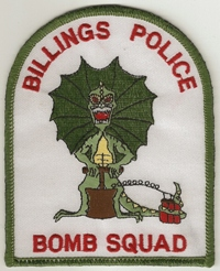 Bomb squad patch