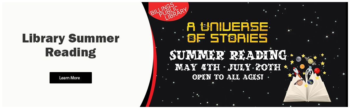 A Universe of Stories - Library Summer Reading