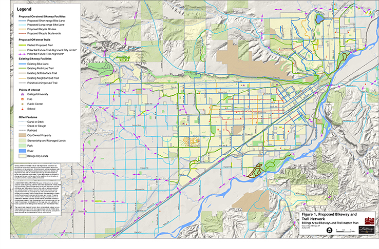 Billings Bike Plan City of Billings MT Official Website